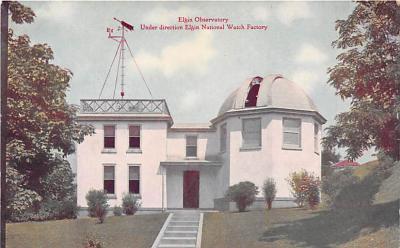 Elgin Observatory Under direction Elgin National Watch Factory