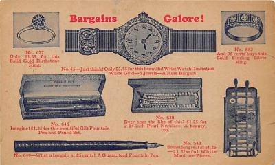 Bargains Galore Watches, Pens, Jewelry