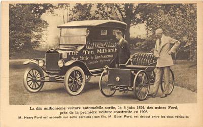 adv002512 - Advertising Postcard - Old Vintage Antique