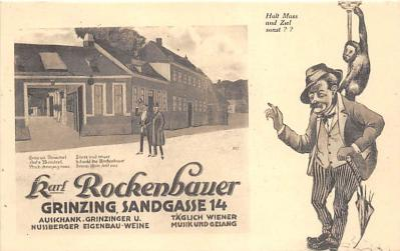 Karl Rockenbauer Grinzing Sandgasse 14