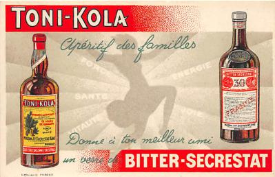 Toni Kola Bitter Secrestat