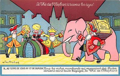 Elephant Au Temps De Louis XV Et De Dupleix