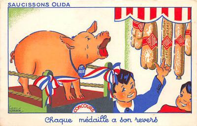 adv002643 - Advertising Postcard - Old Vintage Antique