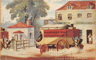 Pickfords Steam Road Van