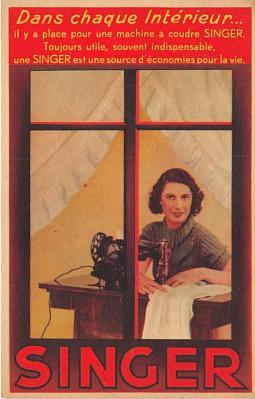 adv002736 - Advertising Postcard - Old Vintage Antique