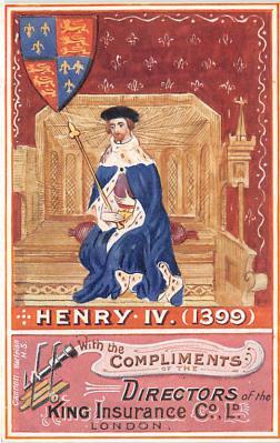 Henry IV 1399