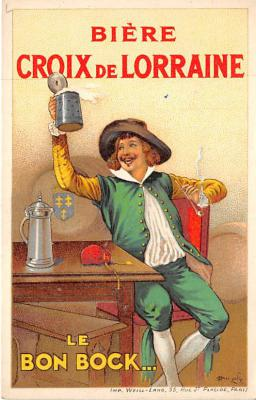 Biere Croix de Lorraine Le Bon Bock