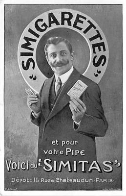 adv002889 - Advertising Postcard - Old Vintage Antique