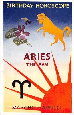 Birthday Horoscope Aries The Ram