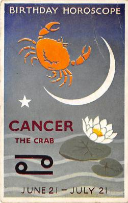 Birthday Horoscope Cancer the Crab