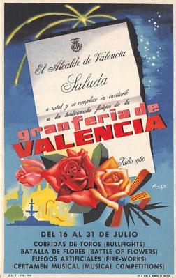 Granferia de Valencia Del 16 al 31 de Julio