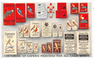 House of Capern Provides for all Cage Birds