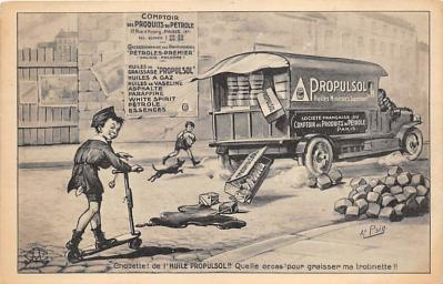 adv002959 - Advertising Postcard - Old Vintage Antique