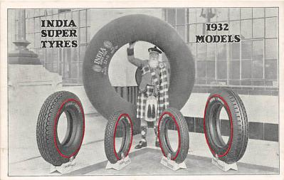 Indian Super Tyres 1932 Models