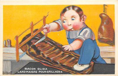 Bacon Olida Lardmaigre Pourgrillades