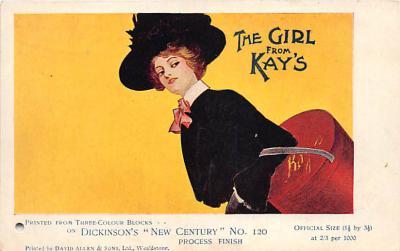 adv003111 - Advertising Postcard - Old Vintage Antique