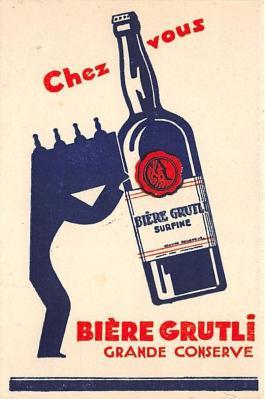 Chez Vous Biere Grutli