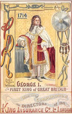George I First King of Great Britain