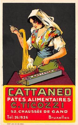 Cattaneo Pates Alimentaires C Ticozzi