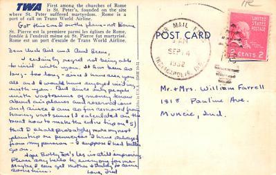 adv004001 - Advertising Post Card  back