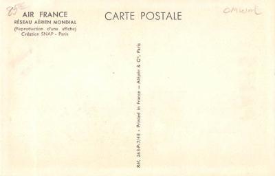 adv004011 - Advertising Post Card  back