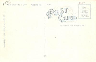 adv006079 - Advertising Post Card  back