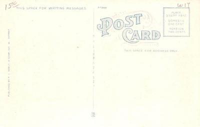 adv006087 - Advertising Post Card  back