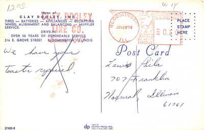 adv006103 - Advertising Post Card  back
