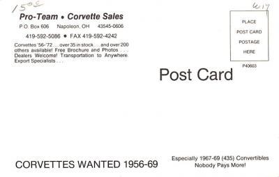 adv006133 - Advertising Post Card  back