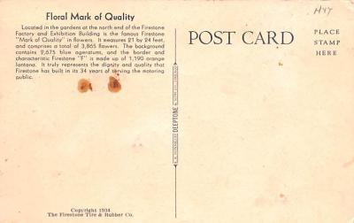 adv006207 - Advertising Post Card  back