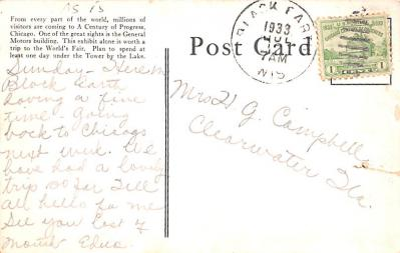 adv006225 - Advertising Post Card  back