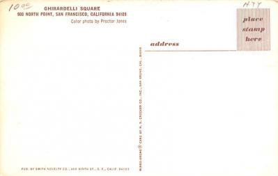 adv008031 - Advertising Post Card  back