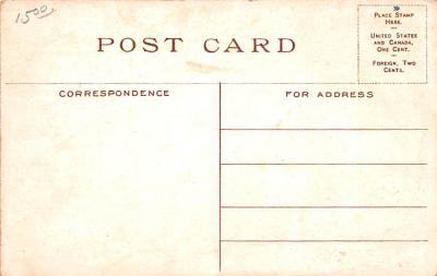 adv009017 - Advertising Post Card  back