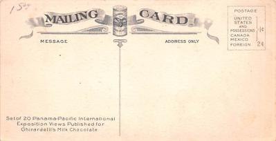 adv009079 - Advertising Post Card  back