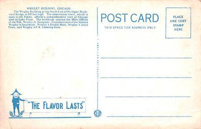 adv009105 - Advertising Post Card  back