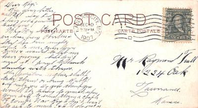 adv009163 - Advertising Post Card  back