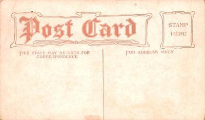 adv009167 - Advertising Post Card  back