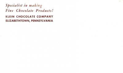adv009175 - Advertising Post Card  back