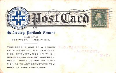 adv010005 - Advertising Post Card  back