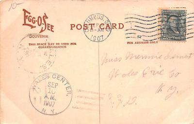 adv011003 - Advertising Post Card  back