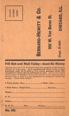 adv011049 - Advertising Post Card  back