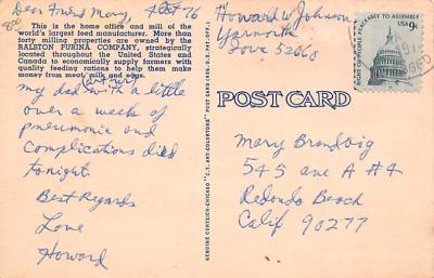 adv011063 - Advertising Post Card  back
