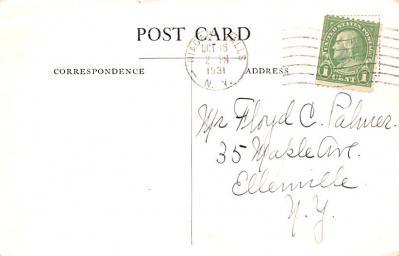 adv011113 - Advertising Post Card  back