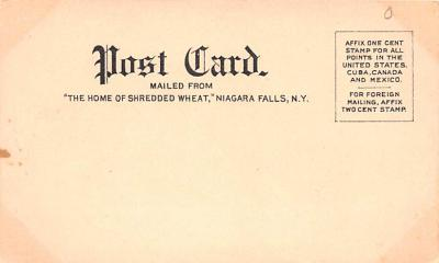 adv011121 - Advertising Post Card  back
