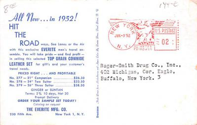 adv012101 - Advertising Post Card  back