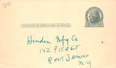 adv012117 - Advertising Post Card  back