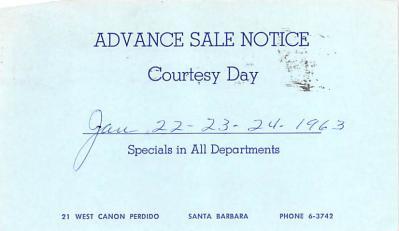 adv012339 - Advertising Post Card