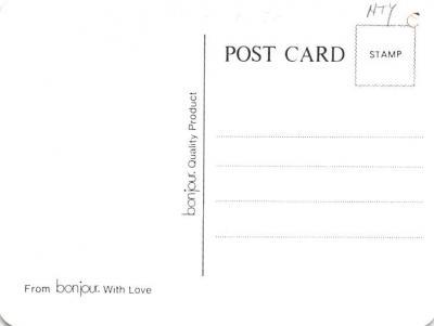 adv012361 - Advertising Post Card  back