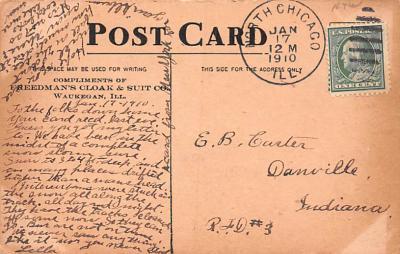 adv012395 - Advertising Post Card  back