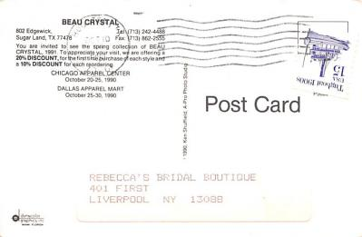 adv012459 - Advertising Post Card  back